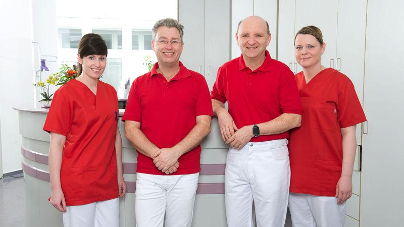 Das Team der Chirurgischen Praxis in Wismar